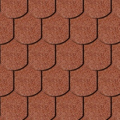 Iko Victorian Tile Red